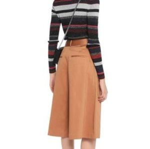 ALICE and OLIVIA Culottes, Pleated, Cotton Blend